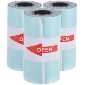Papier autocollant x3 pour l'imprimante de poche Peripage