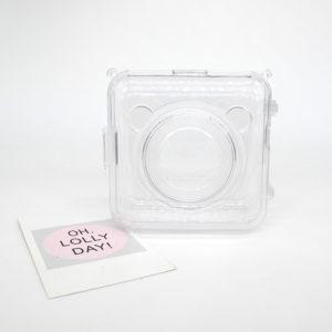 Coque de protection transparent pour peripage a6