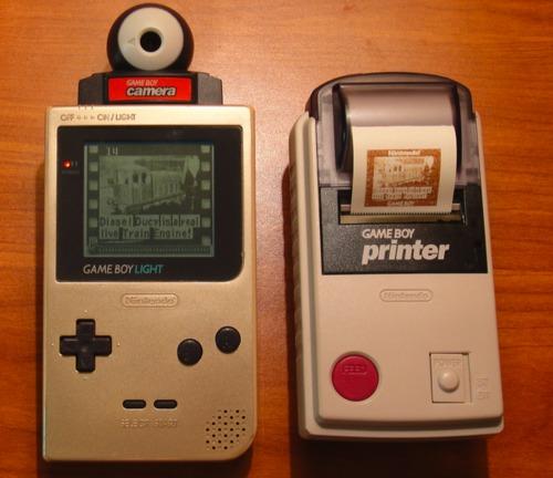 Game Boy Printer + Camera
